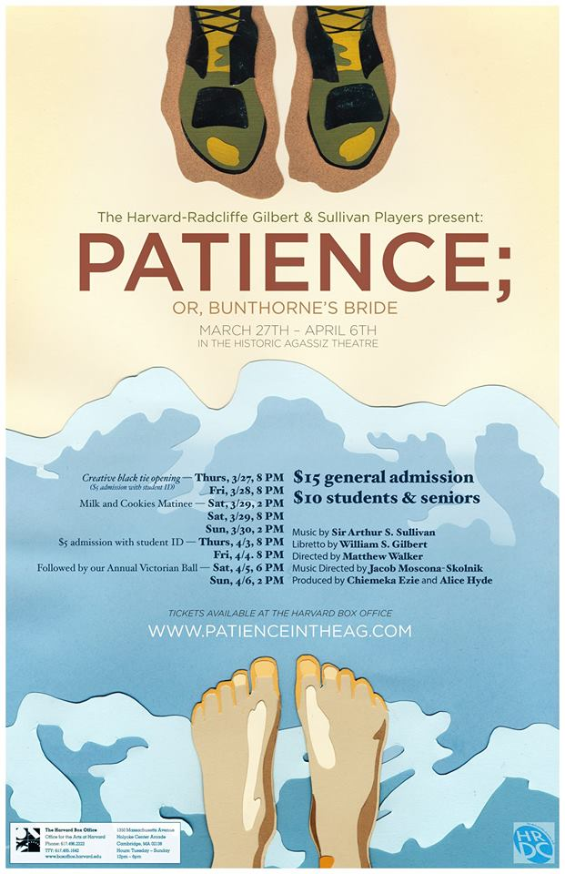 Patience (14) Poster