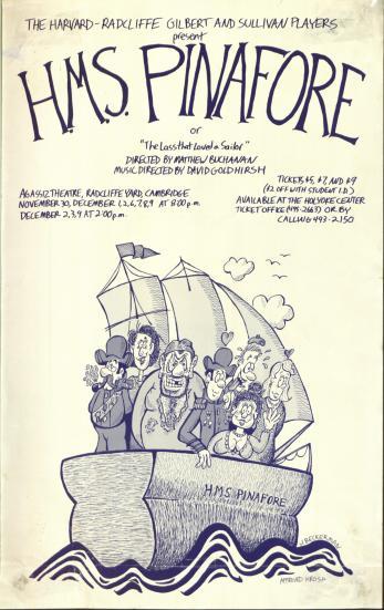 Fall 1989, HMS Pinafore
