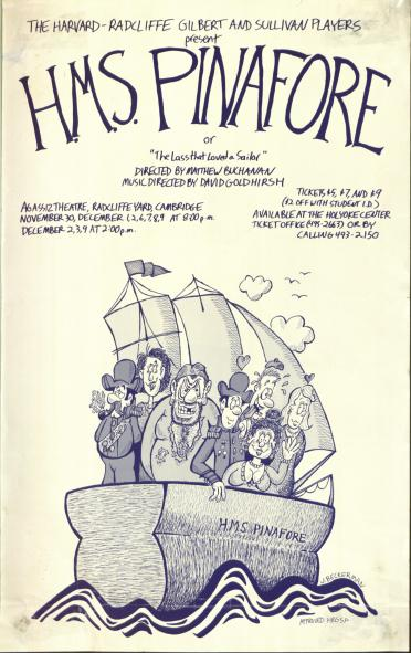 Fall 1989, HMS Pinafore