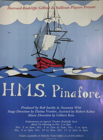 Fall 1993, HMS Pinafore