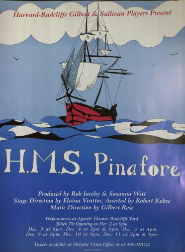 Fall 1993, HMS Pinafore