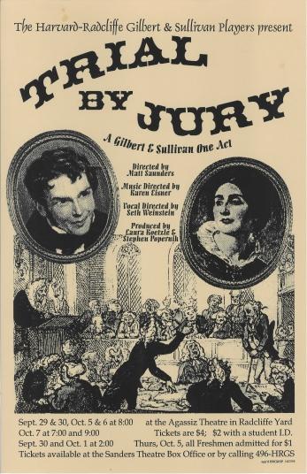 Fall 1995, Pre-Season, Trial by Jury