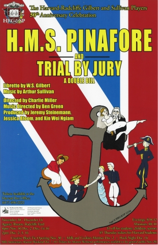 Fall 2006, HMS Pinafore and Trial By Jury