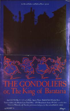 Spring 1973, Gondoliers
