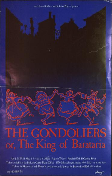 Spring 1973, Gondoliers
