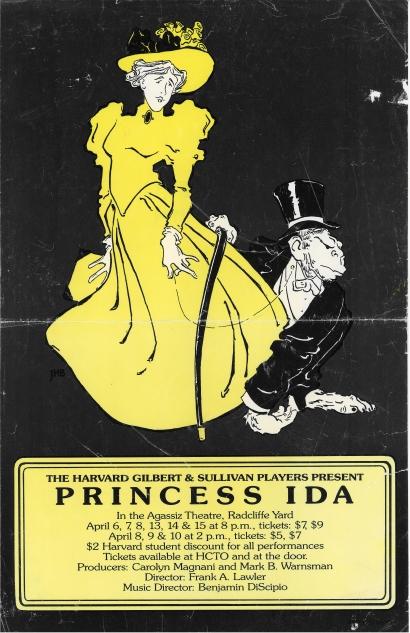 Spring 1989, Princess Ida