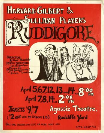 Spring 1990, Ruddigore