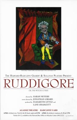 Spring 2000, Ruddigore