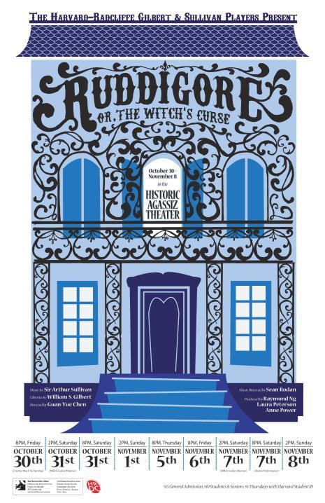 Ruddigore (15) Poster