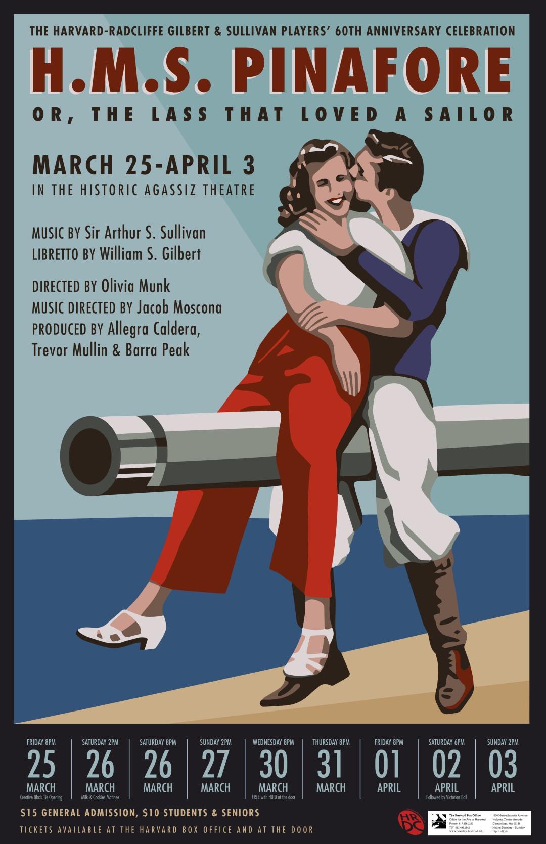 Final Pinafore Poster 7